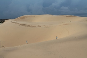 Iconic White Sand Dunes